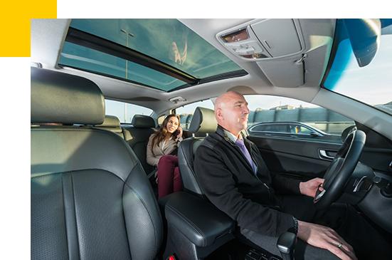 Transport de clientèle / collaborateurs par Abeille Taxi